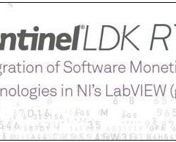 Sentinel LDK RTE ─ 軟體貨幣化授權整合