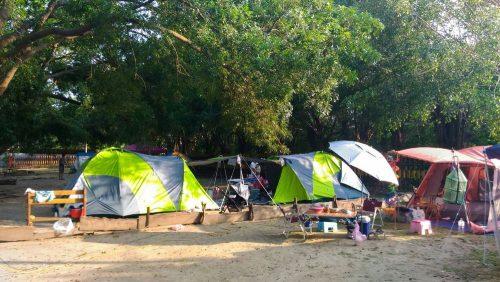 2016年規劃露營營區開放民眾露營,頗受好評。