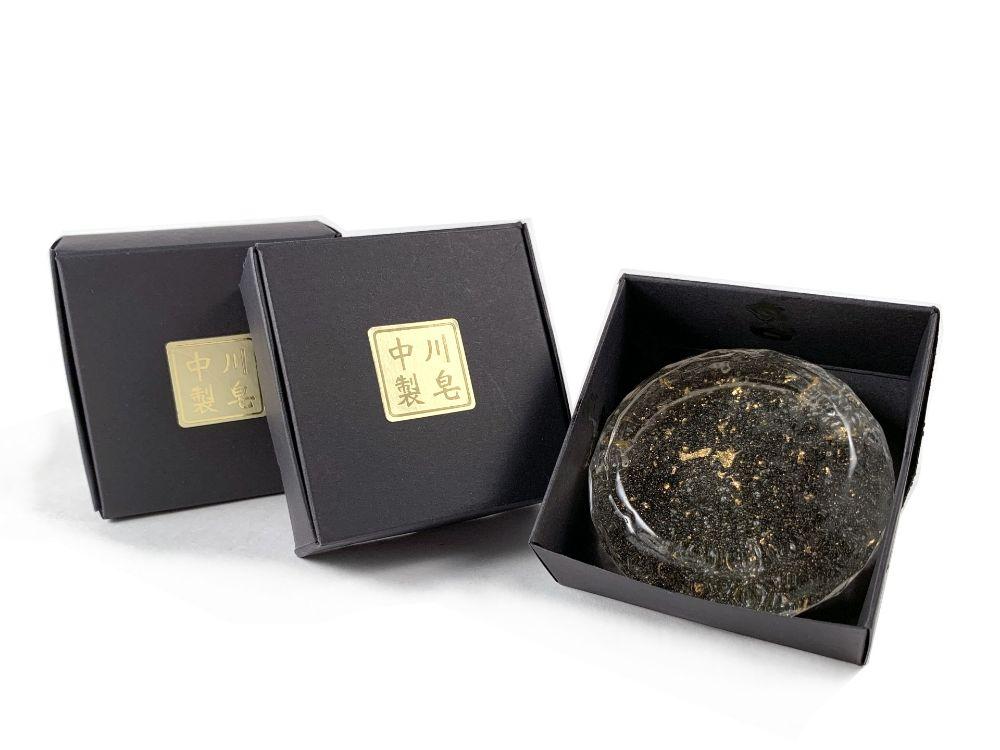 中川金箔皂