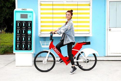 圖:智慧電動自行車 (圖由OKGO電動機車提供)
