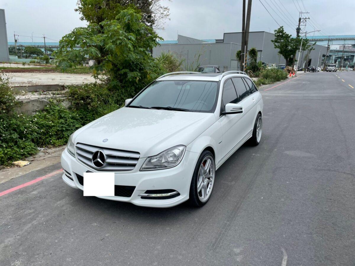 2012 W204 5門 停駛中_210408-調